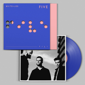 WHITE LIES - FIVE (BLUE VINYL)