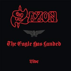 SAXON - THE EAGLE HAS LANDED - LIVE (COLOURED VINYL)