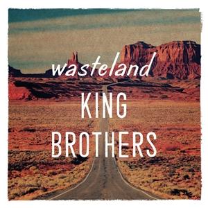 KING BROTHERS - WASTELAND (LTD ORANGE LP+MP3)