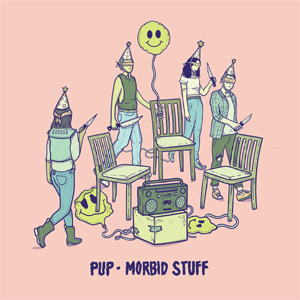 PUP - MORBID STUFF (COLOURED VINYL)
