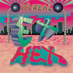 EX HEX - IT'S REAL -LIMITED BLUE/MAGENTA SWIRL VINYL-