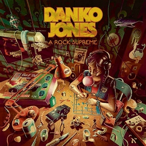 DANKO JONES - A ROCK SUPREME (GTF.CLEAR GREEN)