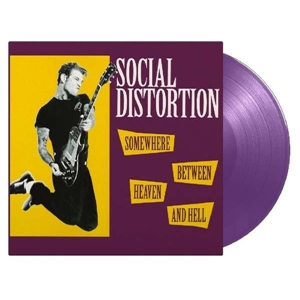 SOCIAL DISTORTION - SOMEWHERE BETWEEN HEAVEN AND HELL (PURPLE)