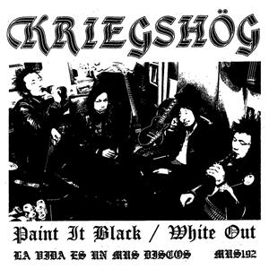 KRIEGSHÖG - PAINT IT BLACK / WHITE OUT