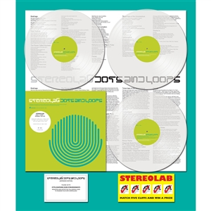 STEREOLAB - DOTS & LOOPS (GATEFOLD 3LP+MP3+POSTER)