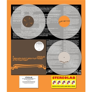 STEREOLAB - COBRA AND PHASES GROUP..(GATEFOLD)