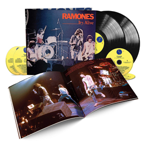 RAMONES - IT'S ALIVE (40TH ANNIVERSARY)