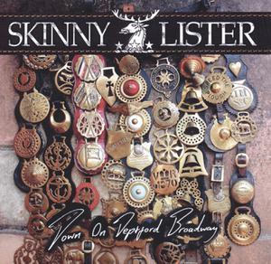 SKINNY LISTER - DOWN ON DEPTFORD BROADWAY-ORANGE VINYL